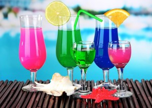 These drinks are much more than colorful. What would you say?