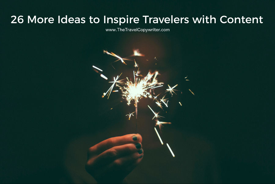 26 travel blog ideas for inspiring content marketing