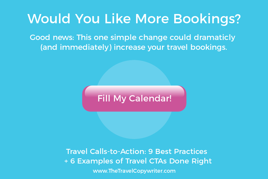 effective travel call-to-action