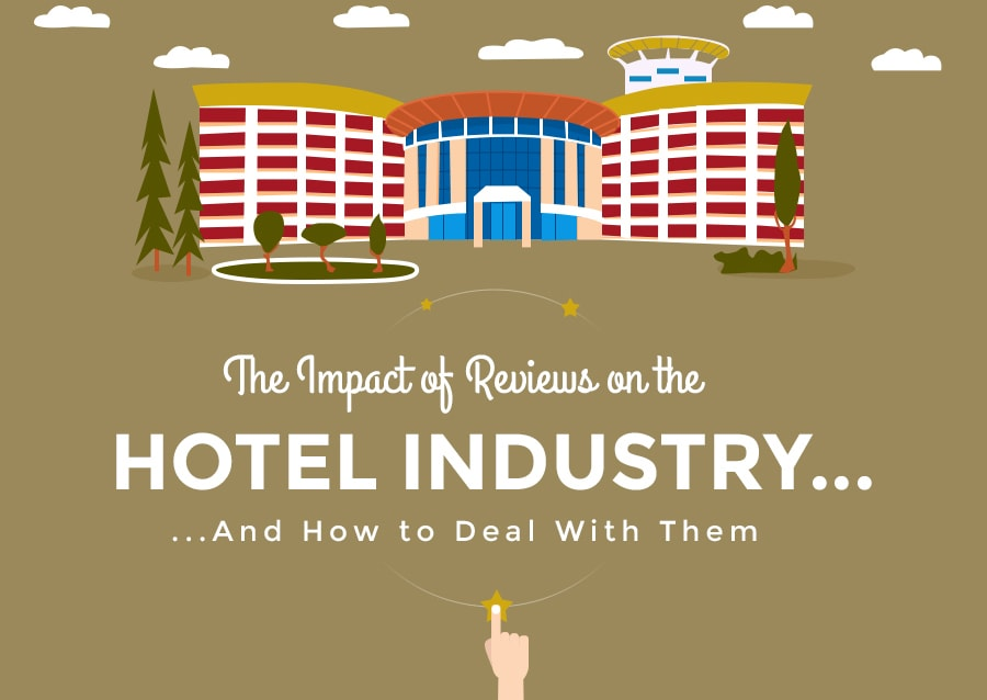 infographic on the importance of hotel reviews