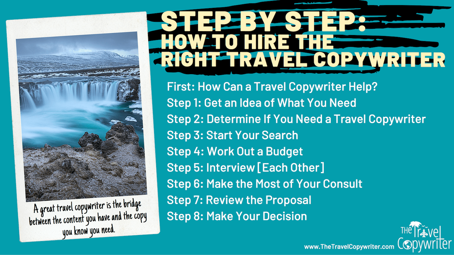 Hire a Travel Copywriter in 8 Steps