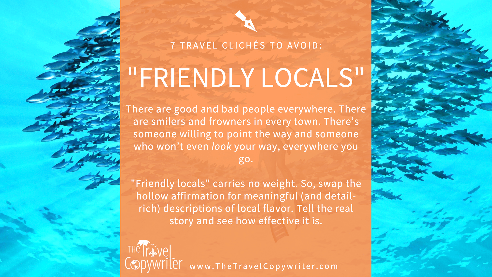 Travel Copywriting Cliches-Friendly Locals