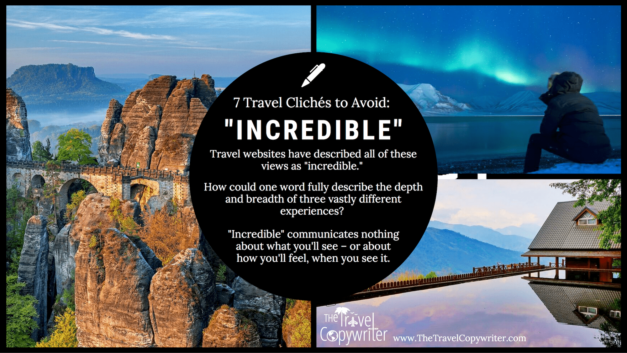 Travel Copywriting Cliches-Incredible